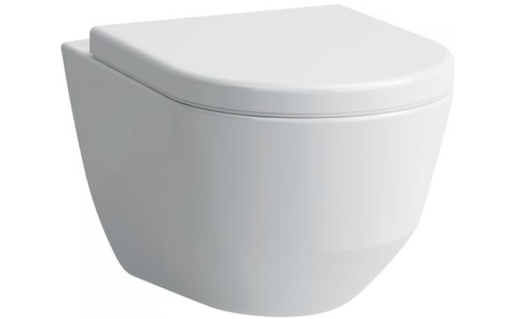 WC závěsné Laufen odpad vodorovný Pro Rimless 2096.6 400 000  bílá-LCC
