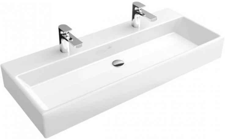 Umyvadlo nábytkové Villeroy & Boch s otvorem Memento 1000x470mm Bílá Alpin