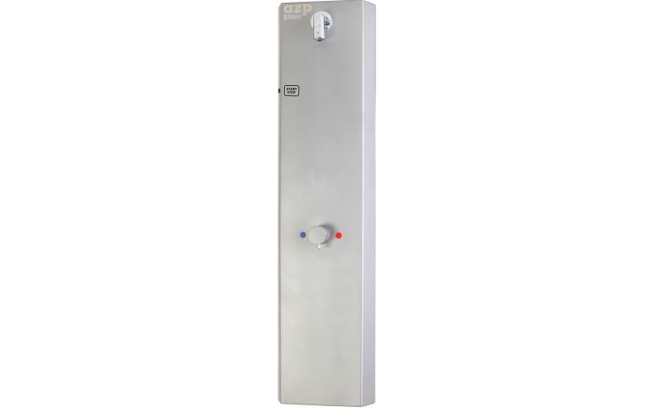 AZP BRNO AUS 3.B sprchová baterie 250x1000mm, s termostatickým ventilem, senzorová, nerez