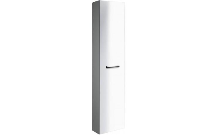 CONCEPT 300 skříňka vysoká 38x20x165cm závěsná, wenge/bílá