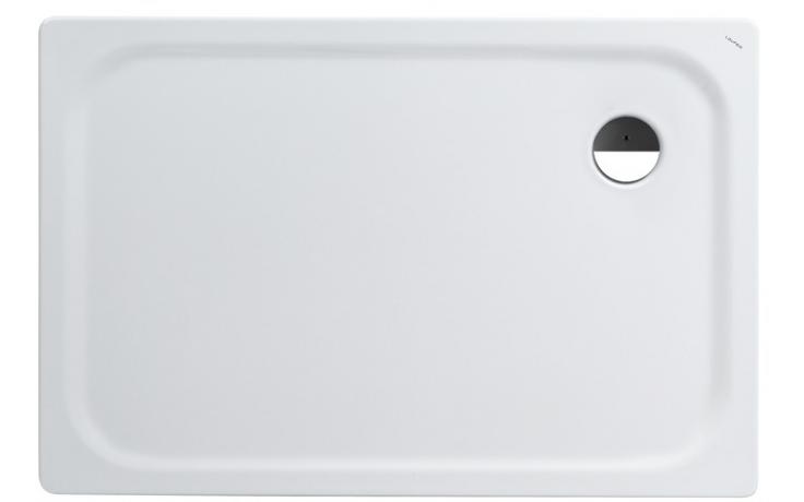LAUFEN PLATINA sprchová vanička 1200x800mm ocelová, obdélníková, s protihlukovou izolací, bílá 2.1500.5.000.040.1