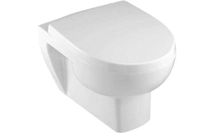 WC závěsné Kohler odpad vodorovný Reach 54x36,5cm bílá
