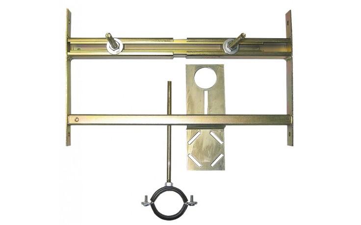 SANELA SLR01L montážní rám 420-625x250mm, předstěnový, pro pisoár s radarovým splachovačem na liště