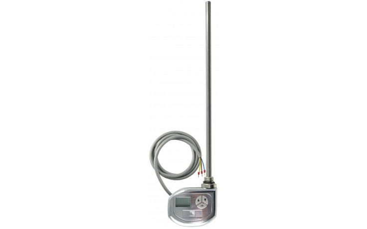 CONCEPT TST-700 topná tyč 300W elektrická s termostatem, stříbrná