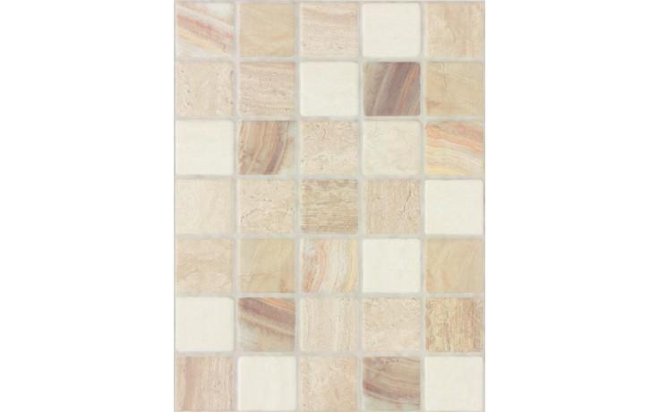 Obklad Rako Lazio falešná mozaika 25x33 cm vícebarevná