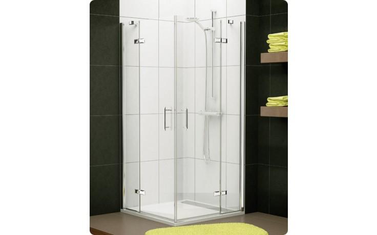 Zástěna sprchová dveře Ronal sklo Pur Light PLE2 D 1000 50 07 1000x2000mm aluchrom/čiré AQ