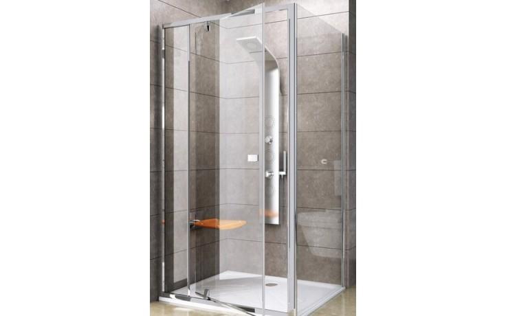 Zástěna sprchová boční Ravak sklo Pivot PPS-80 800x1900 mm bright alu/transparent