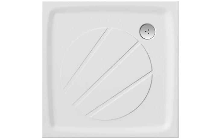 RAVAK PERSEUS PRO 100 sprchová vanička 1000x1000mm z litého mramoru, extra plochá, čtvercová, bílá XA03AA01010