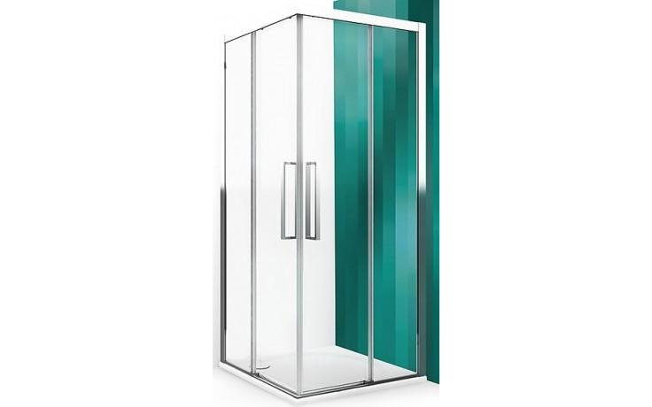 ROLTECHNIK EXCLUSIVE LINE ECS2P/900 sprchové dveře 900x2050mm pravé, dvoudílné posuvné, brillant/transparent
