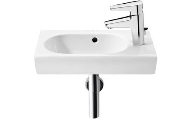 Umývátko klasické Roca s otvorem Meridian 45 cm bílá-maxiClean
