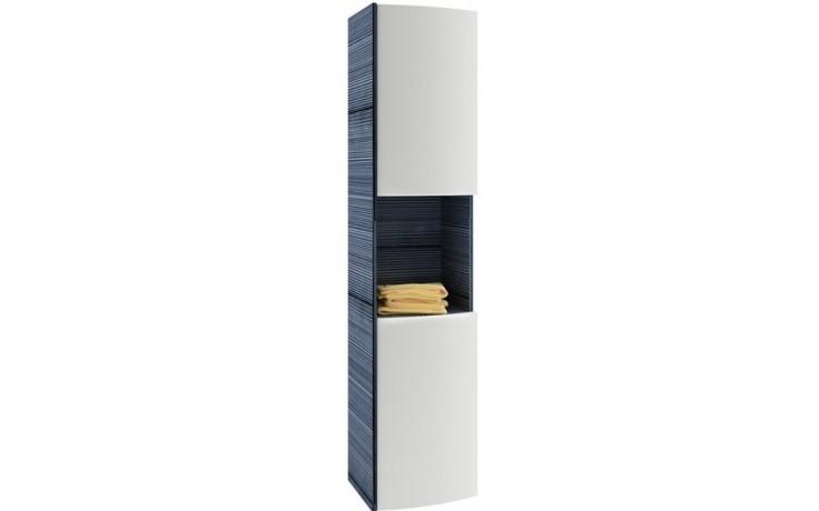 Nábytek skříňka Ravak SB Uni Praktik, Rosa - boční sloup 41x3,5x180 cm bílá/bílá