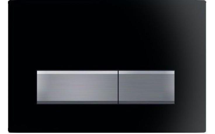 GEBERIT SIGMA 50 ovládací tlačítko 24,6x16,4cm, černá RAL 9005, 115.788.DW.5