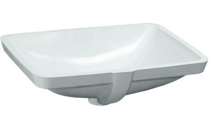 Umyvadlo speciální Laufen - Pro A bez otvoru vč.příslušenství 53 cm bílá