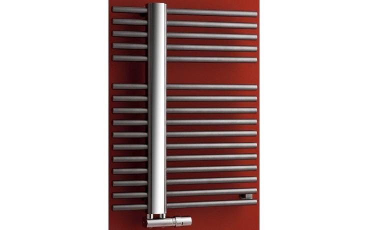 P.M.H. KRONOS koupelnový radiátor 600x1182mm, 631W, metalická stříbrná