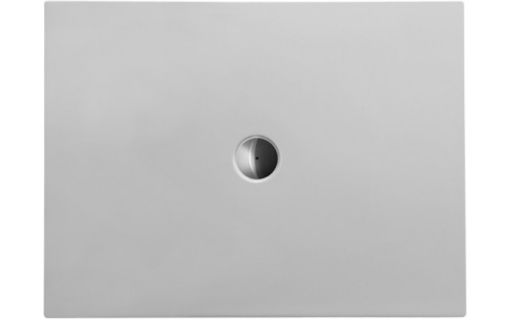 Vanička plastová Duravit obdélník DuraPlan 120x90 cm bílá