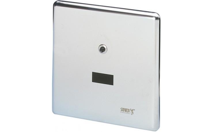 SANELA SLW01NK splachovač WC 24V DC, automatický, na tlakovou vodu, nerez