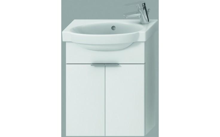 JIKA TIGO skříňka s umývátkem 415x165x535mm se 2 dvířky, bílá 4.5510.3.021.500.1