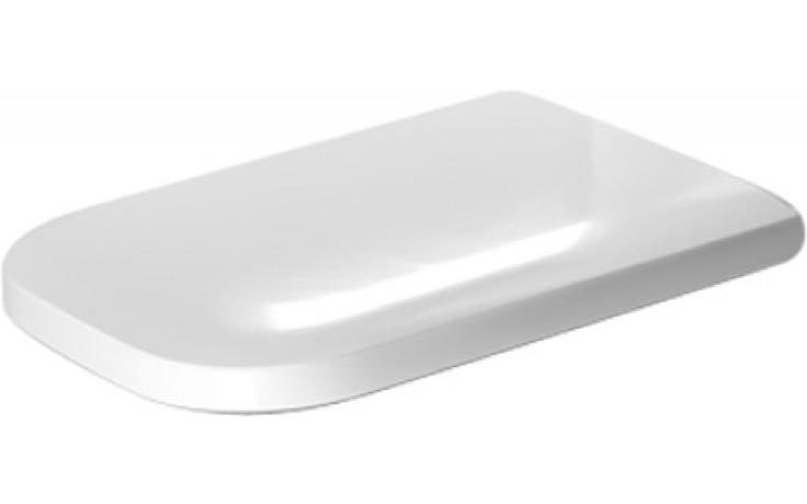 Sedátko WC Duravit duraplastové s kov. panty Happy D.2, prodloužené  bílá