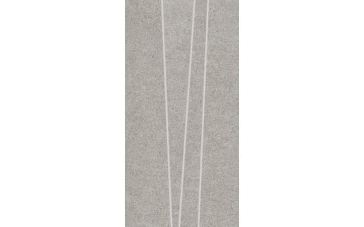 Dlažba Rako Rock prořezávané pruhy 30x60 sv.šedá