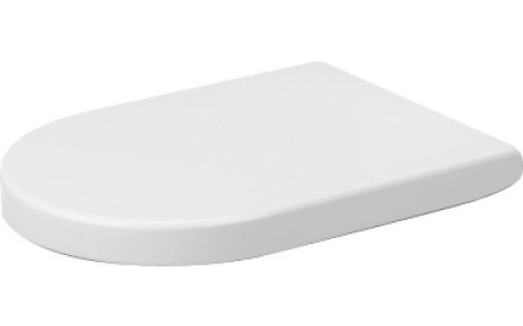 DURAVIT STARCK 3 WC sedátko se sklápěcí automatikou, bílá 0063390000
