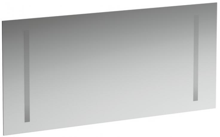 Nábytek zrcadlo Laufen New Case s dvojitým osv. a senzorovým spínačem 130x62 cm