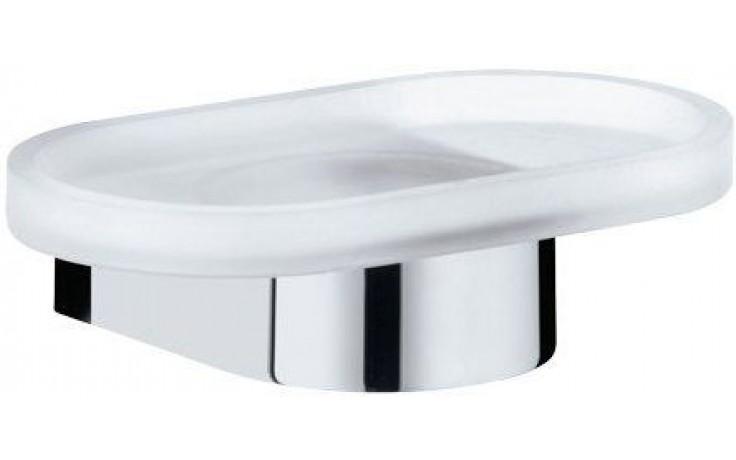 KEUCO EDITION 300 držák na mýdlo 160mm s miskou, chrom/sklo