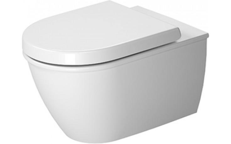 DURAVIT DARLING NEW závěsné WC 370x540mm s hlubokým splachováním, bílá 2557090000