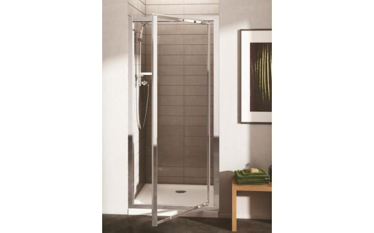 Zástěna sprchová dveře Ideal Standard sklo Connect 900x1900 mm stříbrná lesklá/čiré