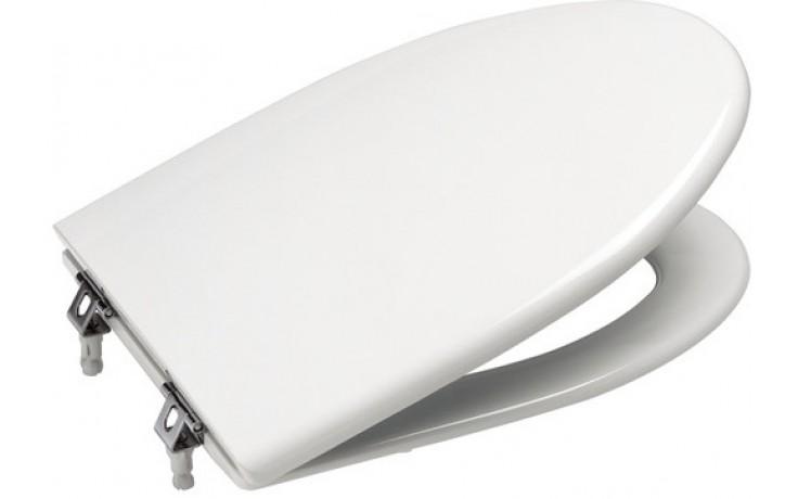ROCA AMERICA klozetové sedátko s poklopem, Slowclose, s antibakteriální úpravou, bílá 7801492004