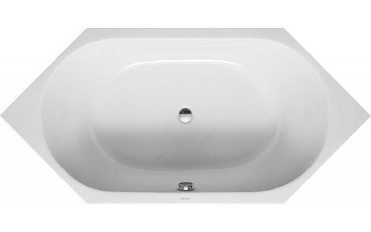 Vana plastová Duravit - D-Code 6ti hraná 190x90 cm bílá