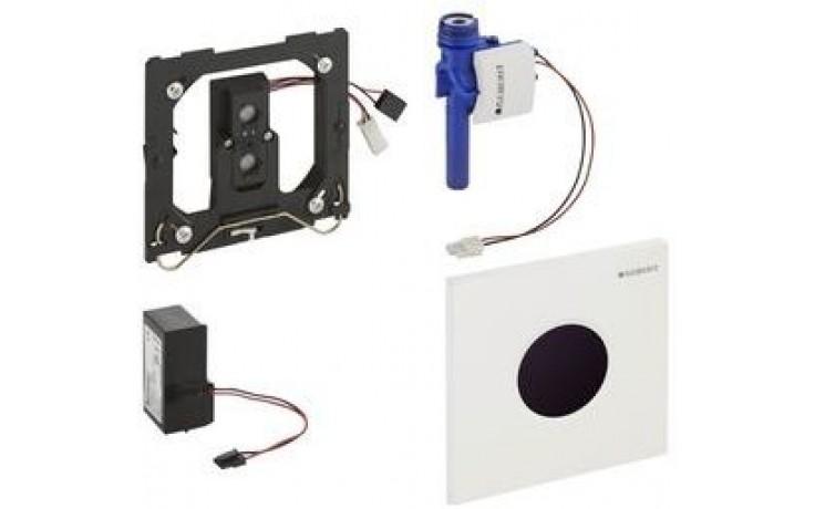 GEBERIT ovládání splachování pisoárů Sigma 01, 13x13cm, infračervené, napájení ze sítě, alpská bílá 116.021.11.5