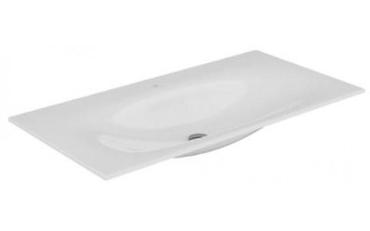 KEUCO EDITION 11 nábytkové umývadlo 1055x17x538mm, s otvorem, bílé