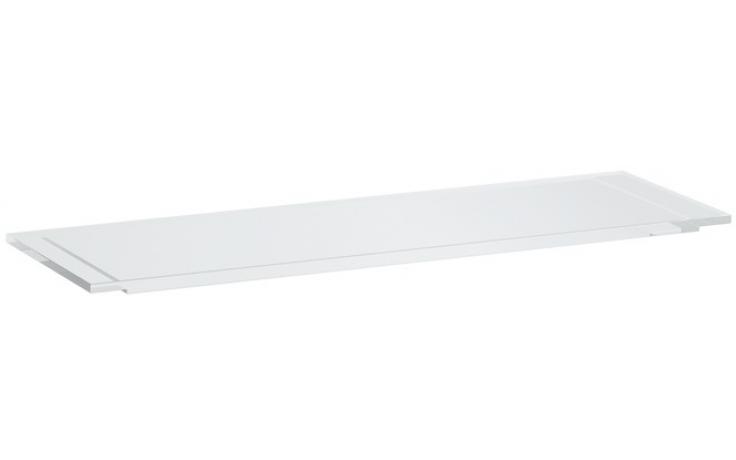 Doplněk polička Laufen Kartell by Laufen vanová 75x25x1,5 cm smoky grey