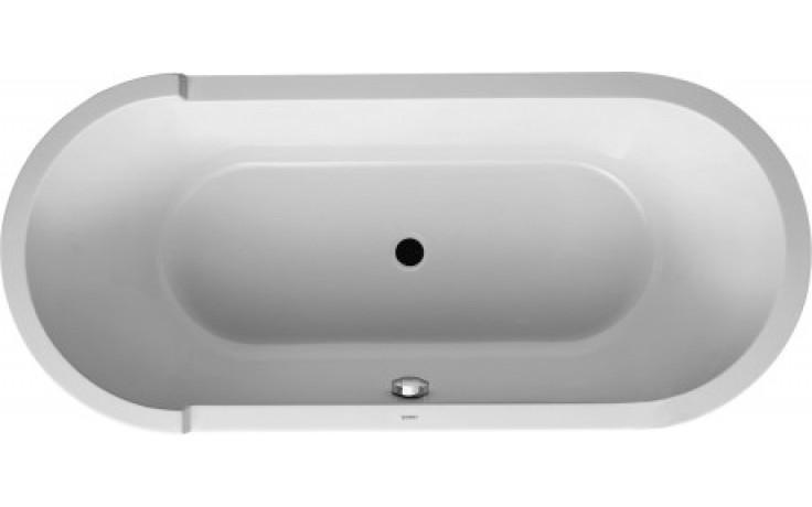 Vana plastová Duravit - Starck 180x90 cm bílá