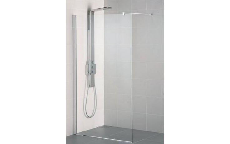 Zástěna sprchová Ideal Standard sklo Synergy Wetroom L 6224 EO 100x2025 mm Silver Bright/Transparente