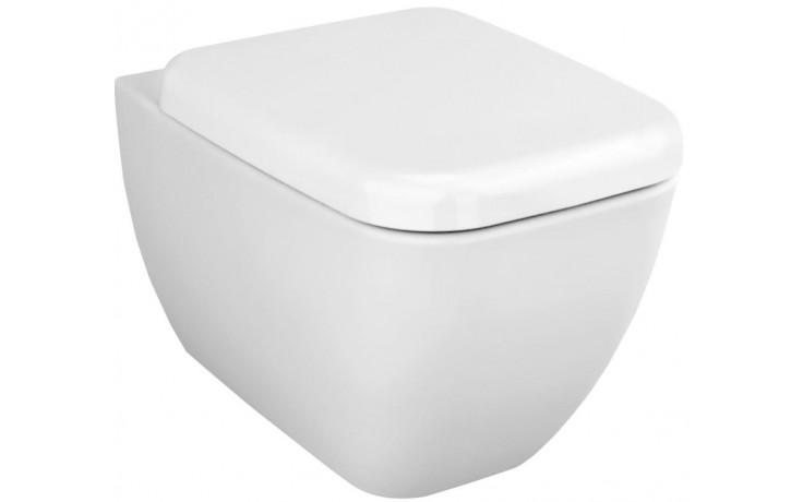 WC závěsné Vitra odpad vodorovný Shift splachování  bílá