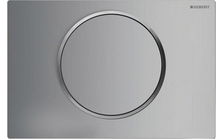 GEBERIT SIGMA 10 ovládací tlačítko 24,6x16,4cm, chrom mat/lesk 115.758.KN.5