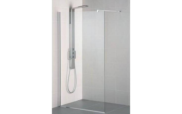 IDEAL STANDARD SYNERGY WETROOM sprchová stěna 90x202,5xm vstup z obou stran, Silver Bright/sklo L6223EO