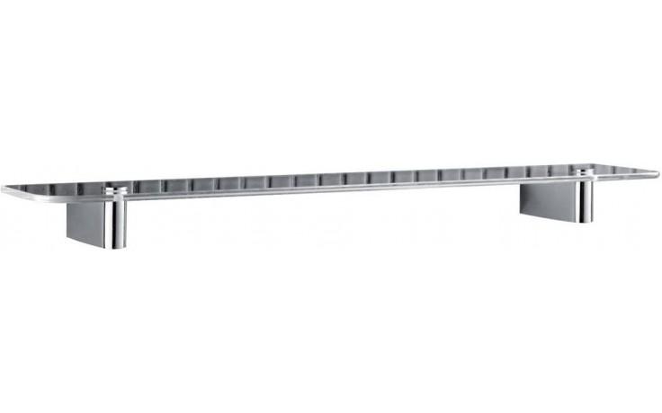 Doplněk polička Ideal Standard Connect 50x11 cm chrom/sklo