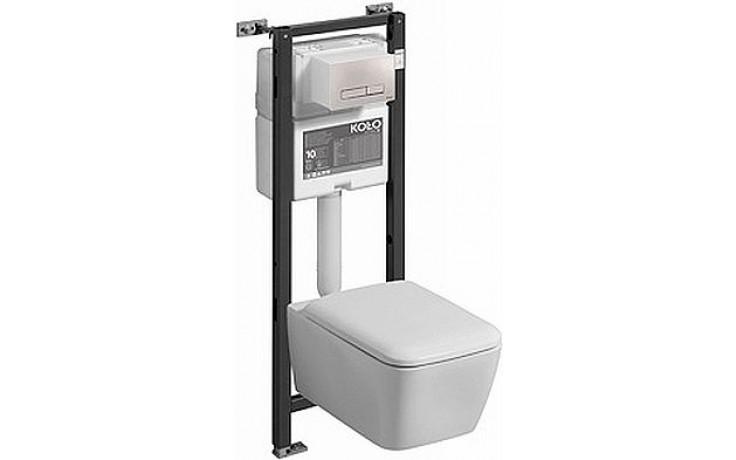 KOLO LIFE! set instalační modulklozet závěsný 35x54cm, bez splachovacího kruhu, Smart Fresh, bílá 99343000