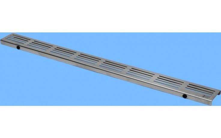 CONCEPT 50 STRIPE designový rošt 985mm, nerez ocel