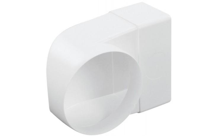 HACO CKZ 100/110x55 ventilační systém 100/110x55mm, přechodový kus koleno, bílá