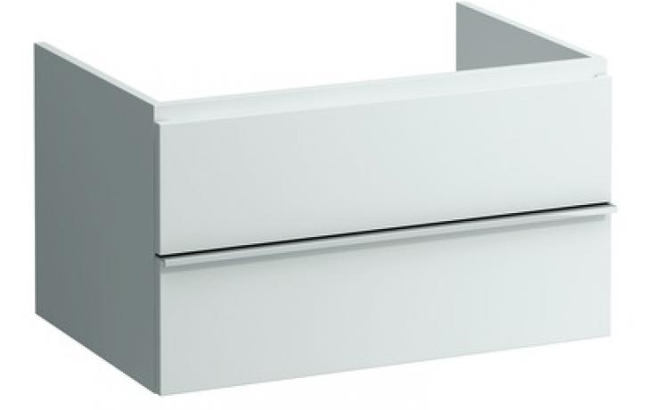 Nábytek skříňka pod umyvadlo Laufen New Case zásuvkový díl 79x45x52 cm bílá