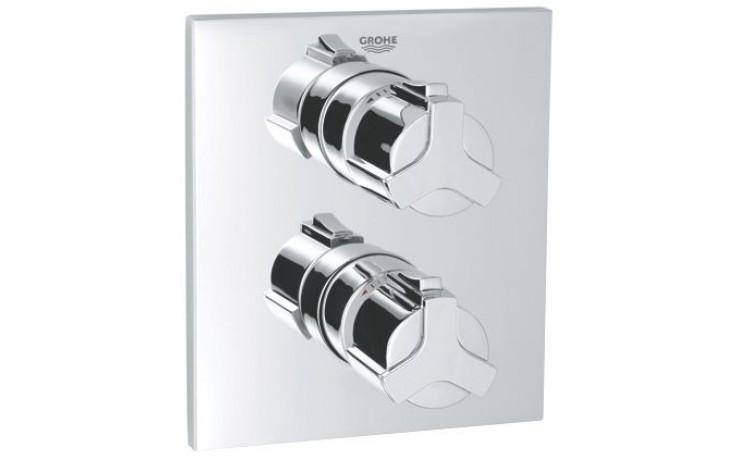 Baterie sprchová Grohe podomítková termostatická Allure vrchní díl  chrom
