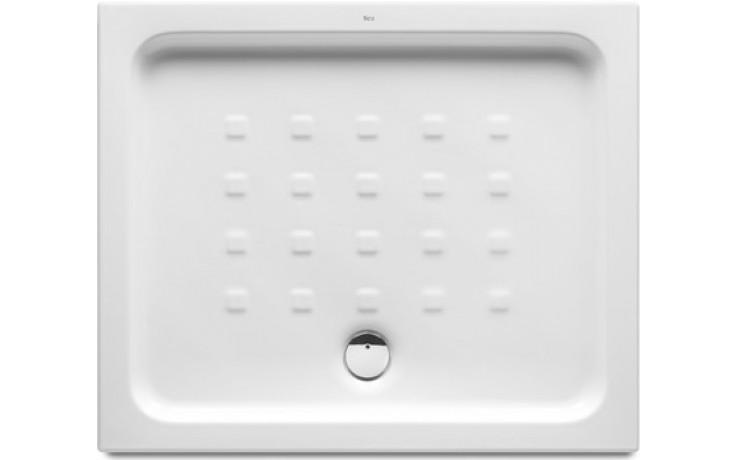 ROCA EASY keramická sprchová vanička 900x750x80mm obdélníková, bílá 7374791000