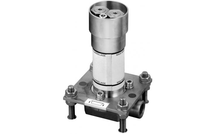 Příslušenství k bateriím Laufen - Twinprime montážní těleso  chrom
