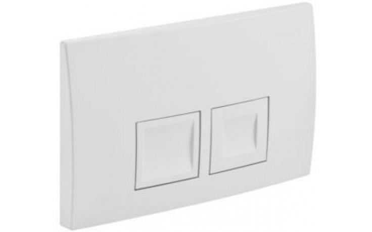 GEBERIT DELTA 50 ovládací tlačítko 24,6x16,4cm, alpská bílá 115.135.11.1