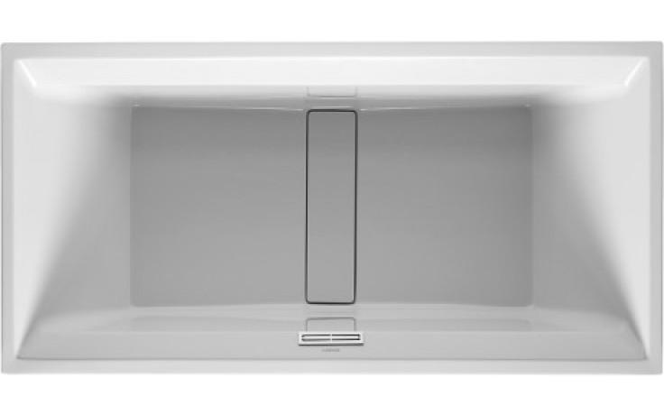 Vana plastová Duravit - 2nd floor 200x100 cm bílá