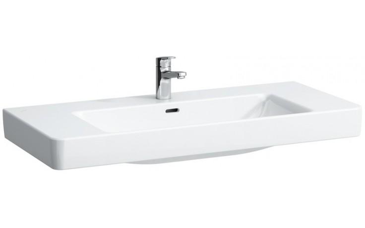 Umyvadlo nábytkové Laufen s otvorem Pro S 105 cm bílá