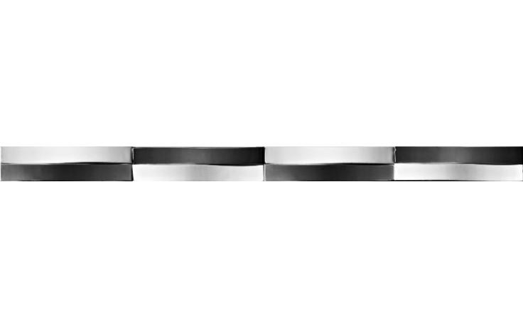 IMOLA ANTIGUA listela 4x60cm white, L.NASTRO WN
